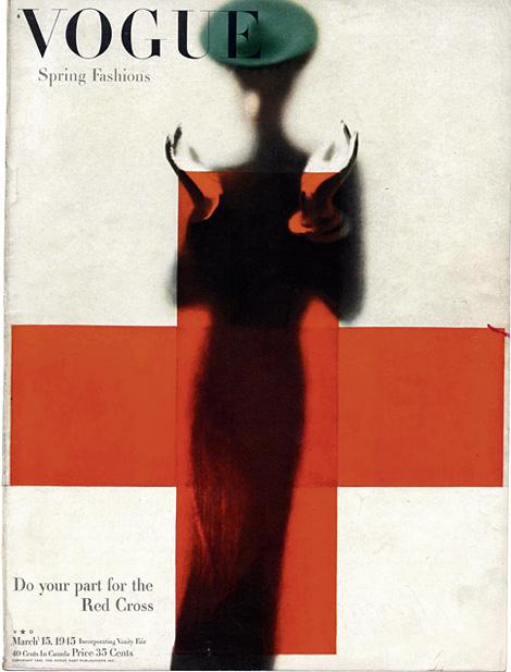 American Vogue x Erwin Blumenfeld, 1945