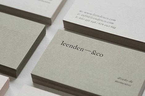 Leenden&co identity