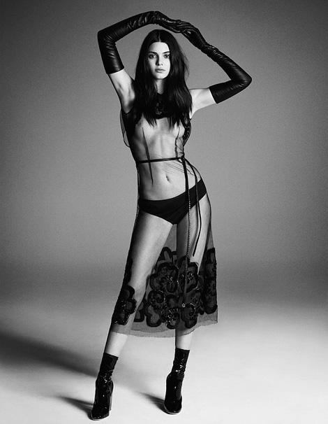 Kendall Jenner x Iango Henzi & Luigi Murenu
