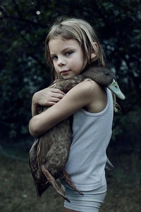 Hug a duck