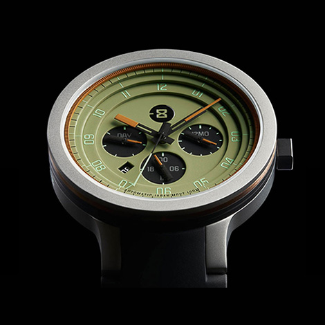 Minus 8: Layer 24 wristwatch