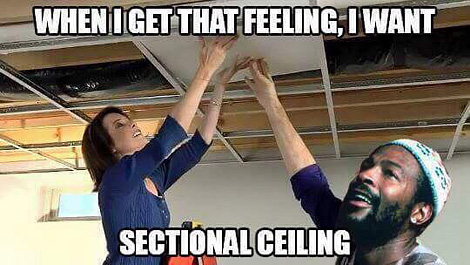 Sectional ceiling