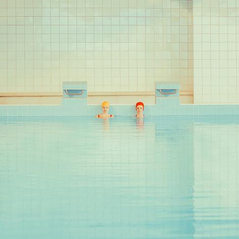 Maria Svarbova: Swimming pool