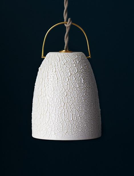 Bell pendant lamp