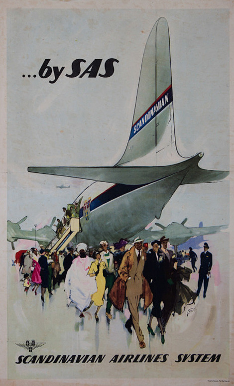 Scandinavian Airlines System poster