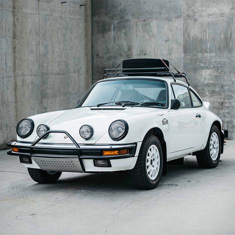 Luftauto Porsche 911