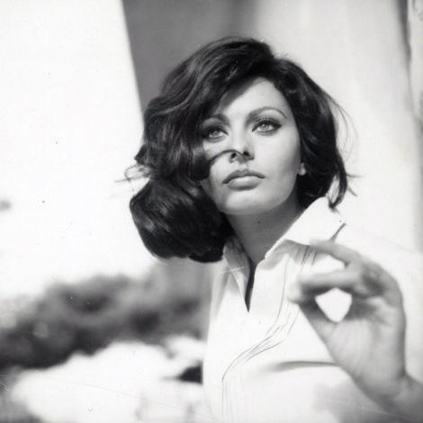 Sophia Loren x Peter Basch