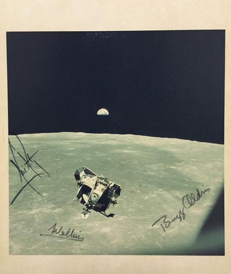Lunar module ascending