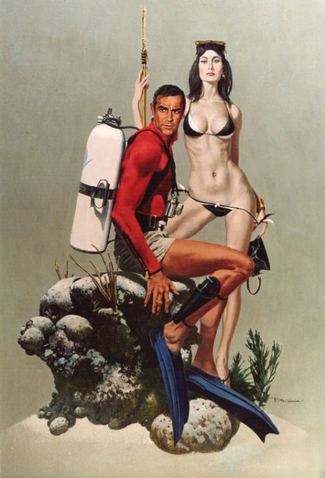 Robert McGinnis - Thunderball