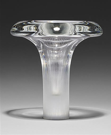 Tapio Wirkkala glass art object