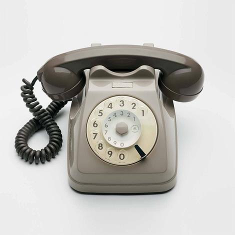 Vintage Italian telephone