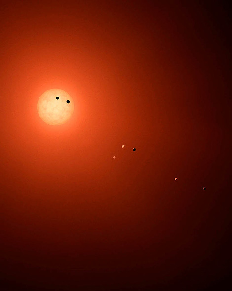 Seven worlds for TRAPPIST-1
