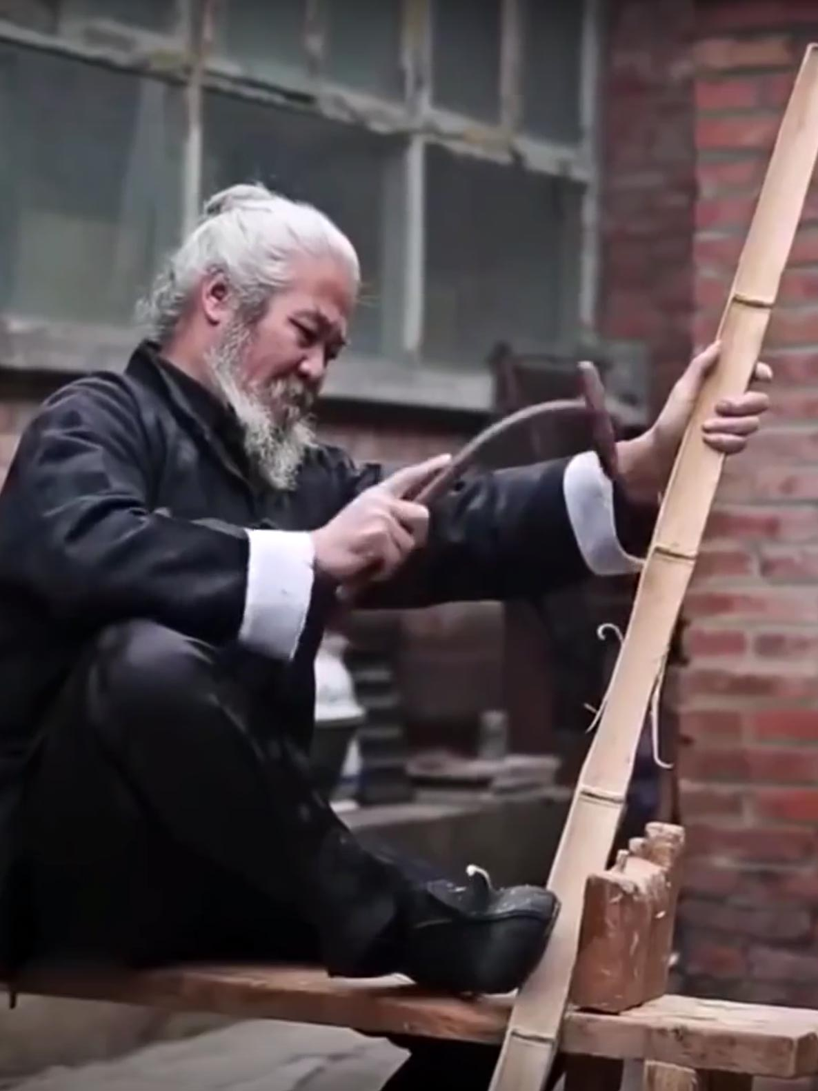 Classic Chinese bow making