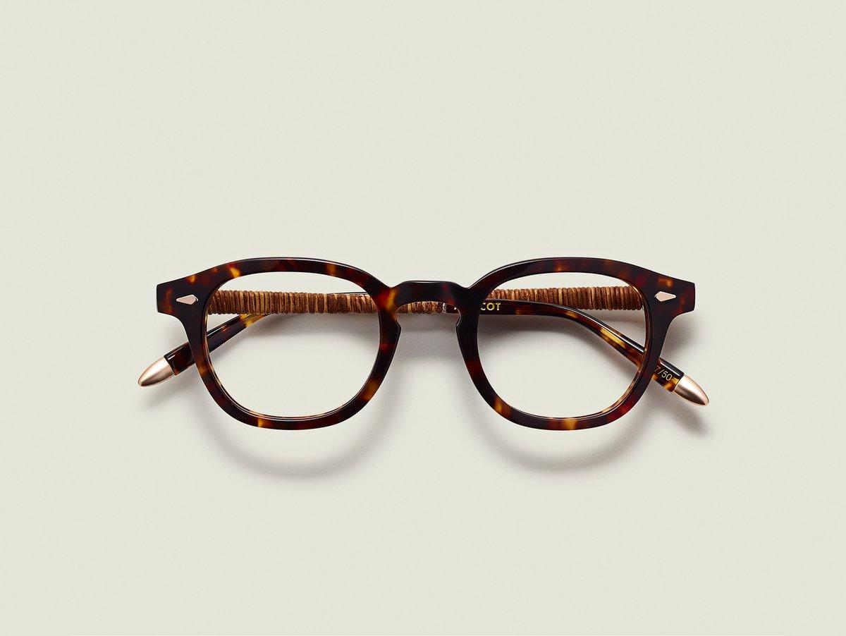 MOSCOT x Ascari LEMTOSH eyewear