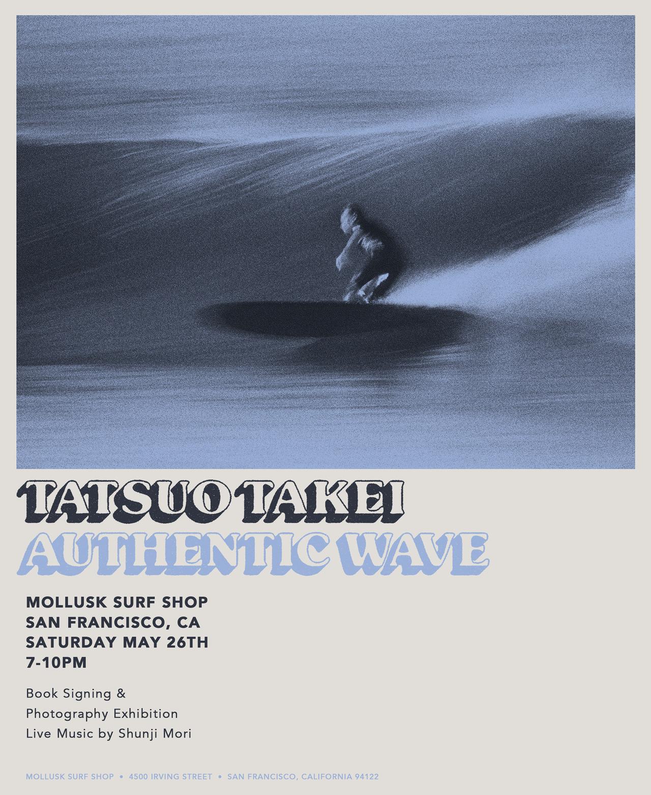 Tatsuo Takei: Authentic Wave