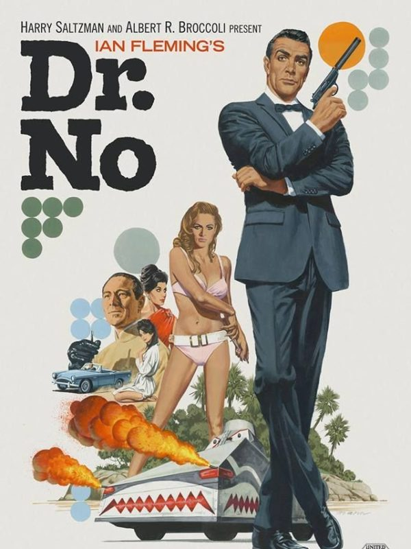 Dr No x Paul Mann