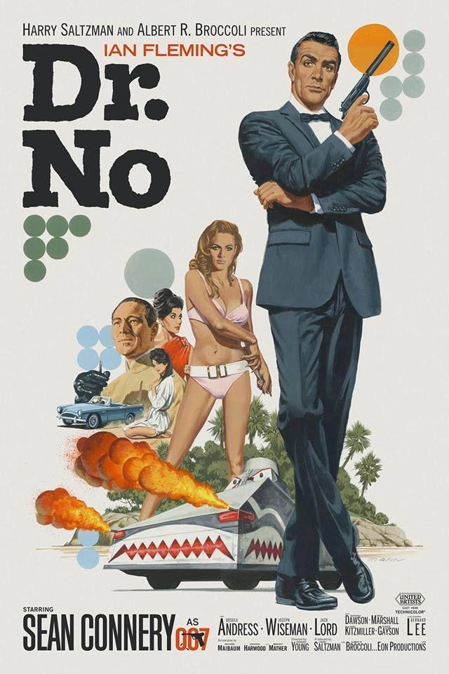 Dr No x Paul Mann