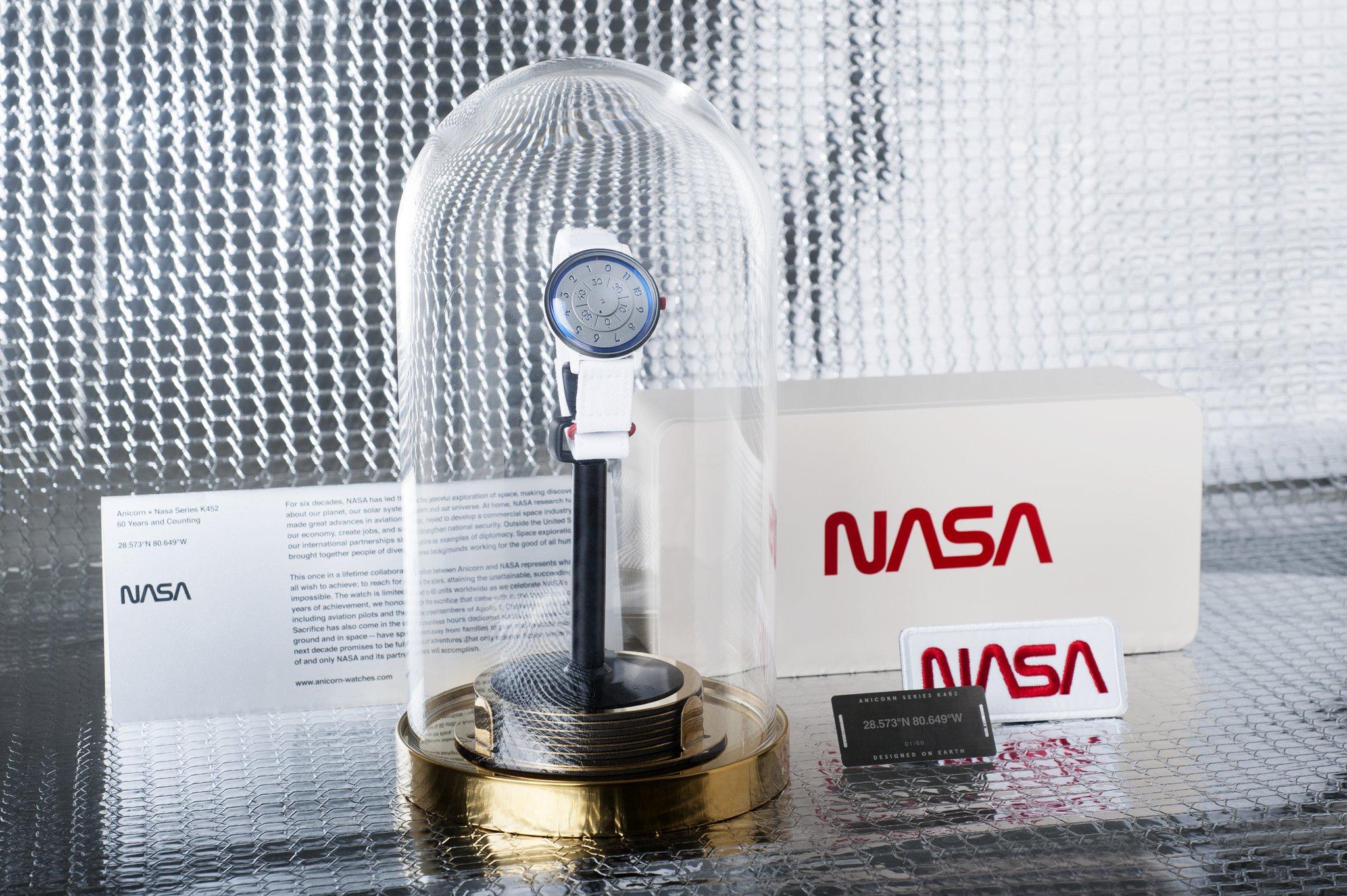 Anicorn x NASA limited edition watch