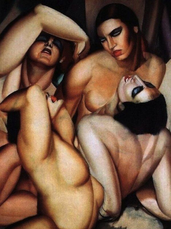 Four Nudes x Tamara de Lempicka