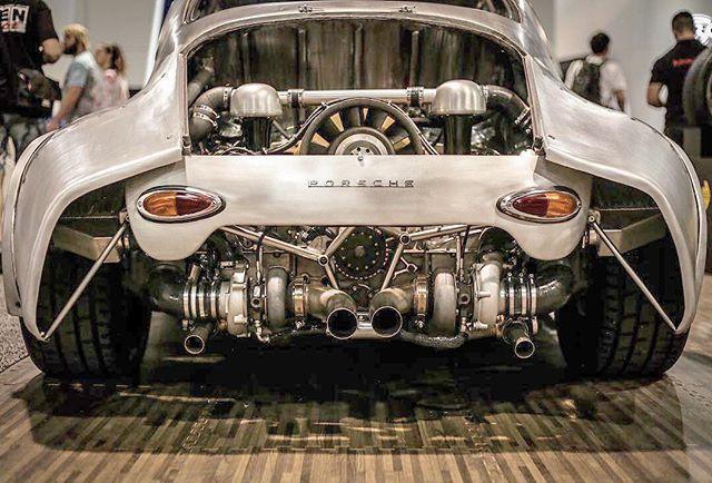 Stripped Porsche