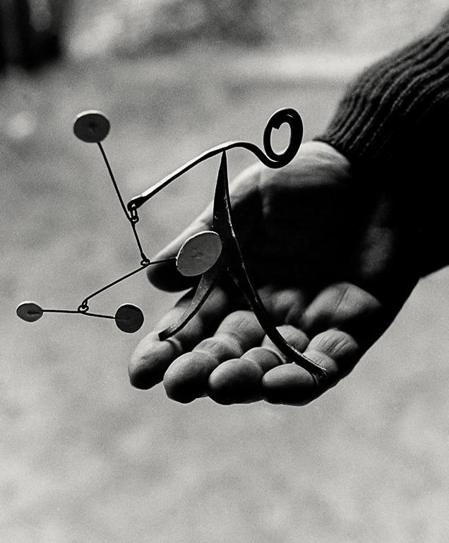 Alexander Calder miniature mobile