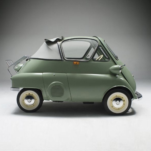 BMW Isetta 300 B/W Cabriolet Tropical