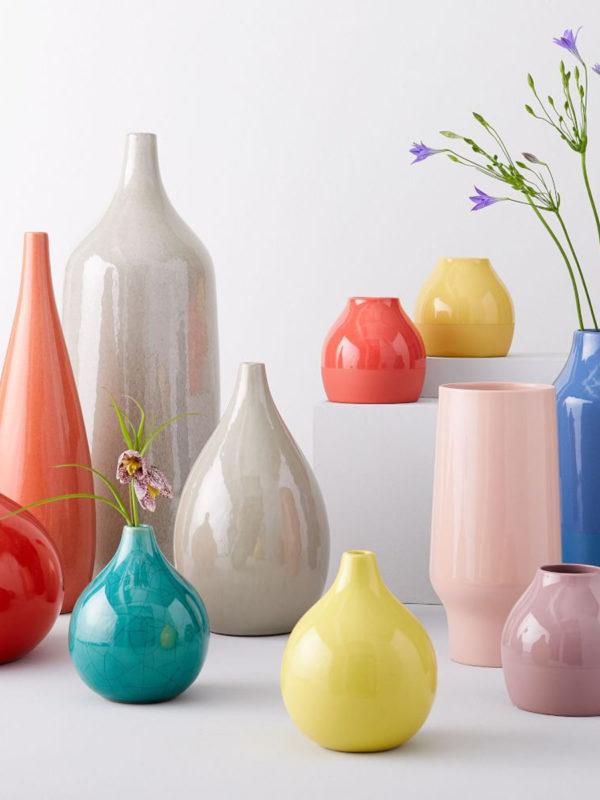 Bright Ceramicist Vases