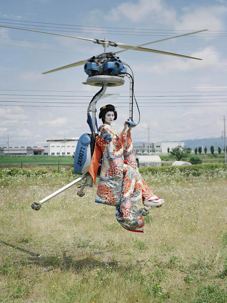 Flying Geishas