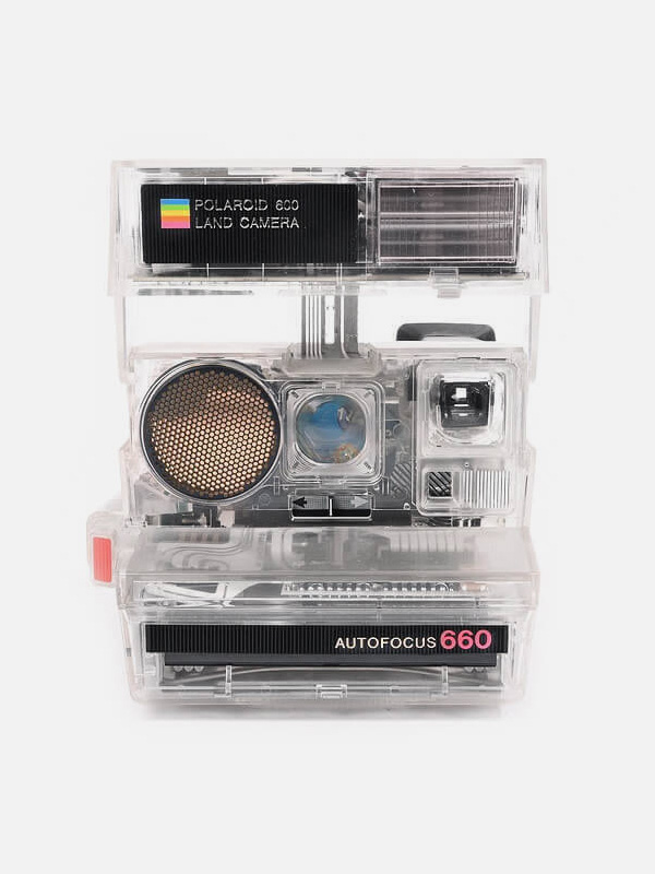 Polaroid 660 Transparent Edition