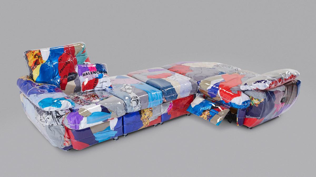 Harry Nuriev x Balenciaga sofa