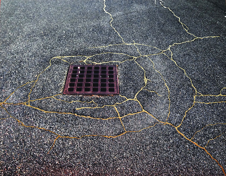 Sidewalk Kintsukuroi x Rachel Sussman
