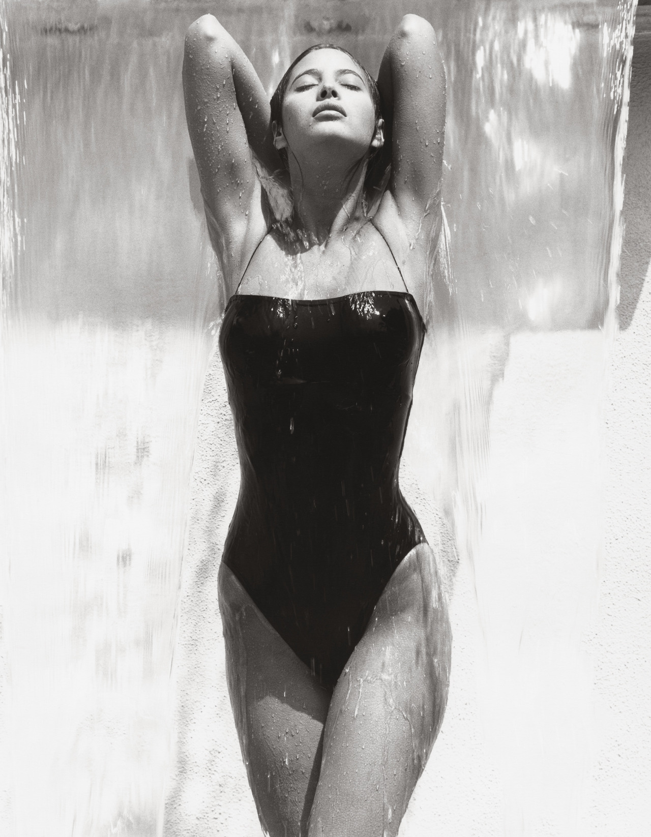 Christy x Herb Ritts