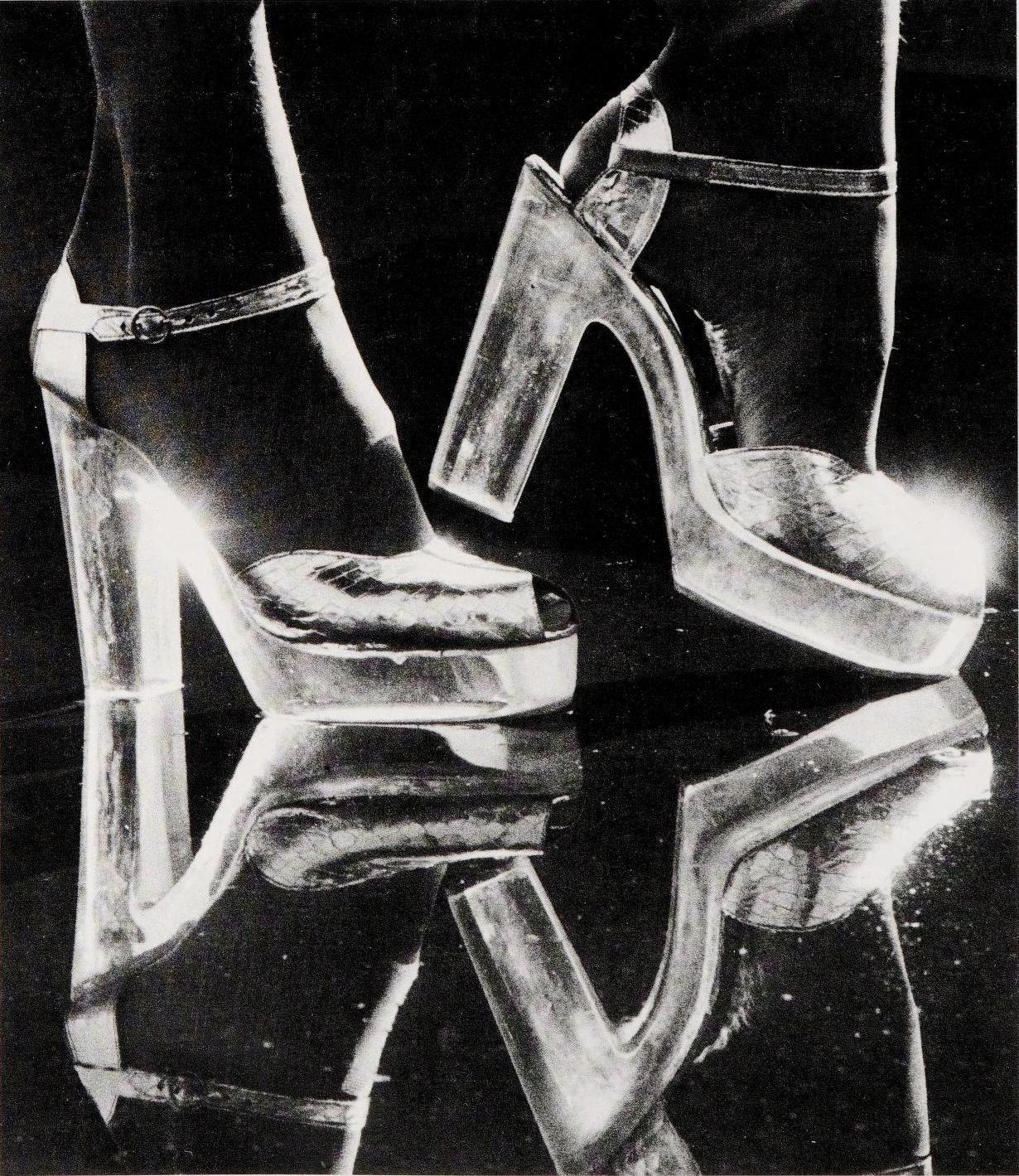70′s Perspex High Heel Shoes