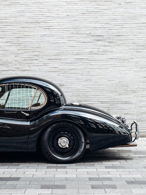 1953 Jaguar XK120 electric car