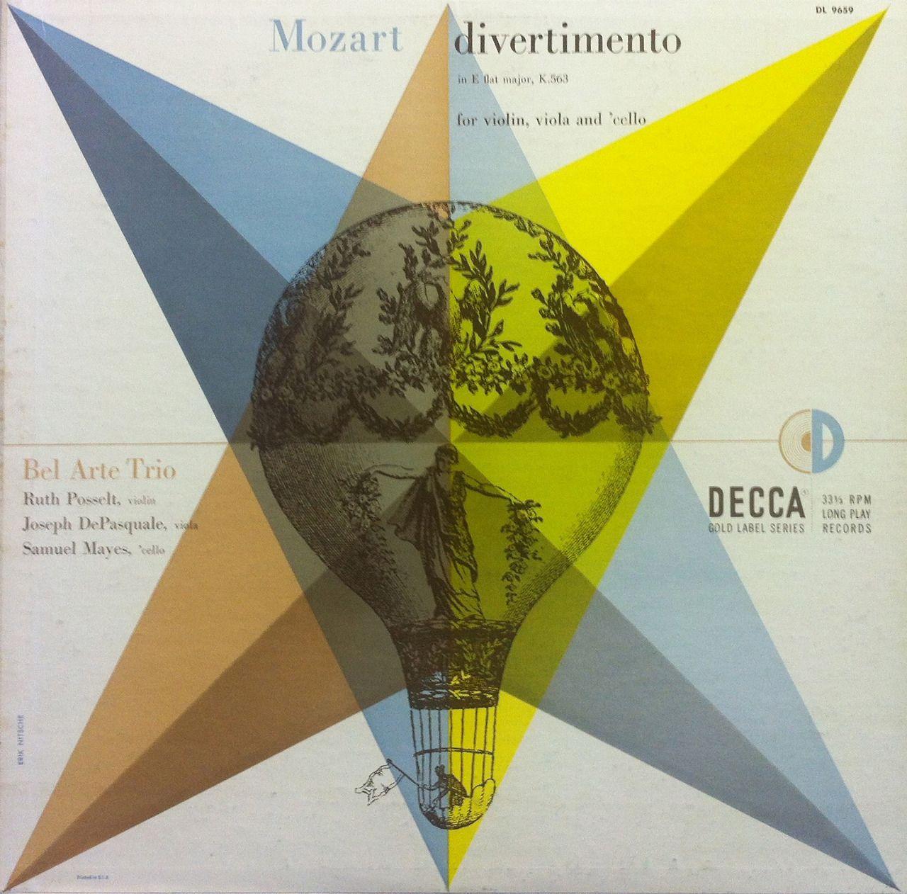 Mozart featuring Bel Arte Trio x Erik Nitsche
