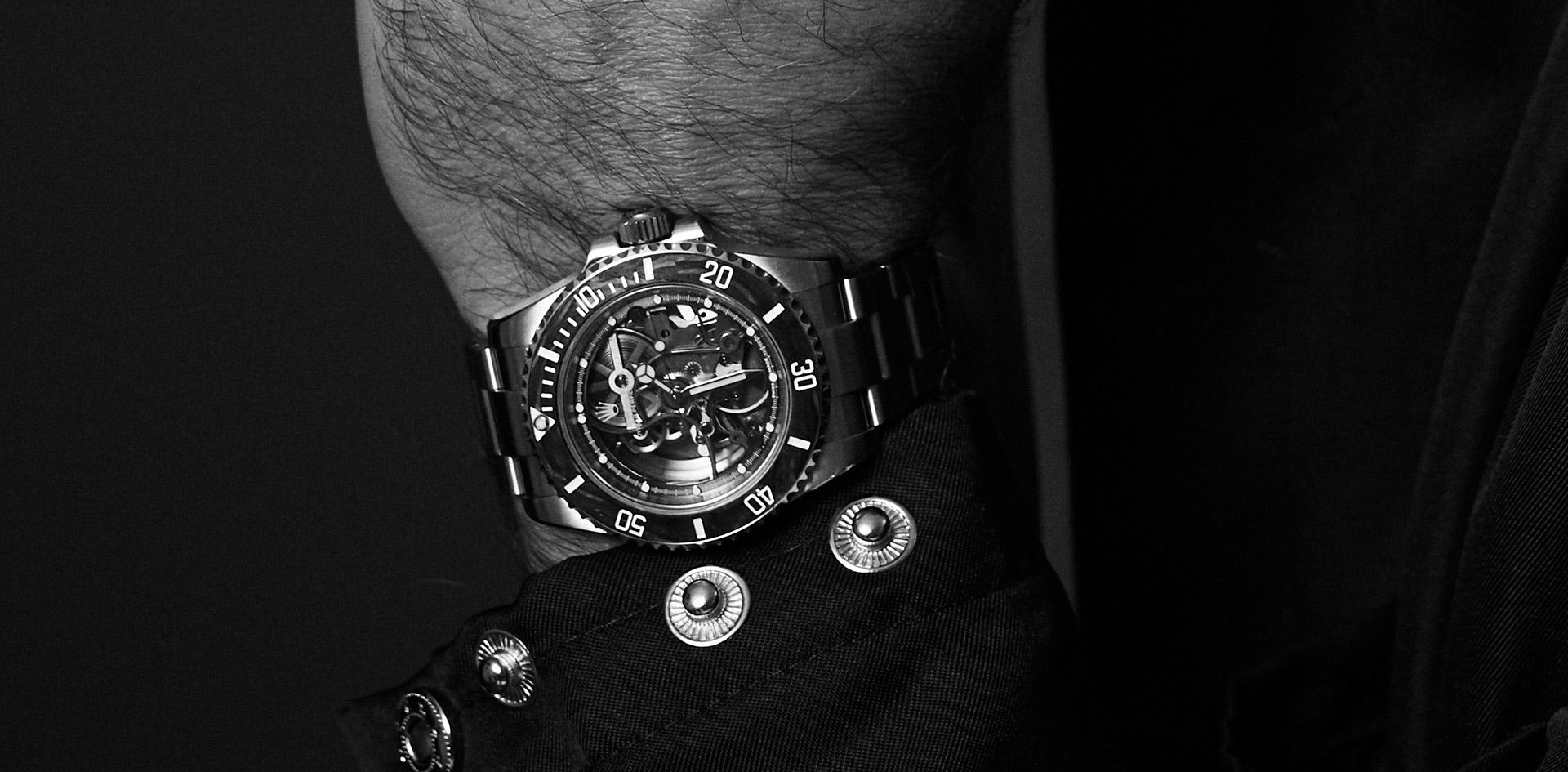 Artisans de Genève Skeleton Rolex Submariner