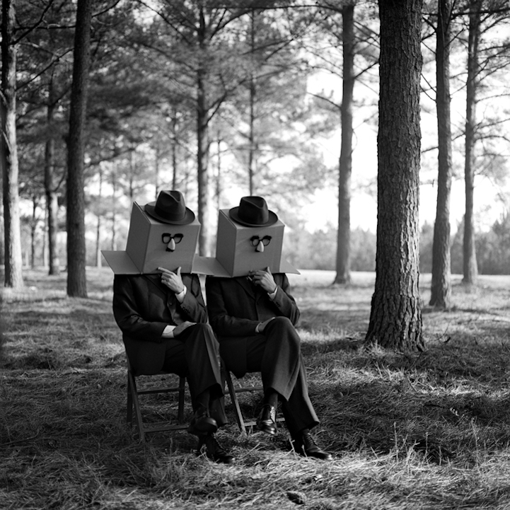 Cardboard box twins nº 1