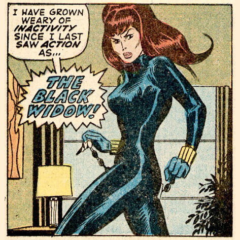 The Black Widow x John Buscema