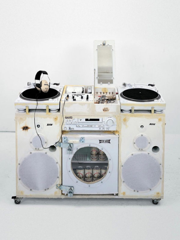 White Ghetto Blaster x Tom Sachs