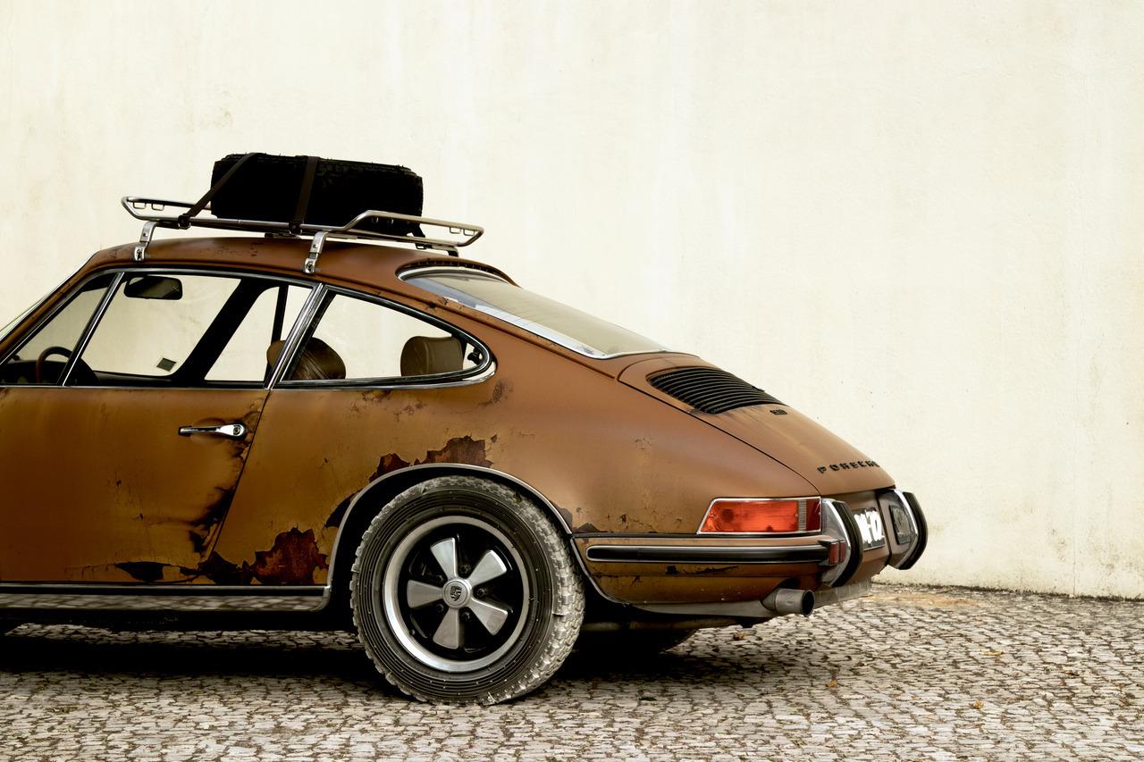 Wabi Sabi Porsche