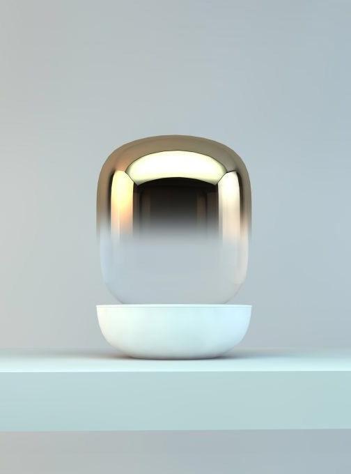 Gold Gradient Lamp