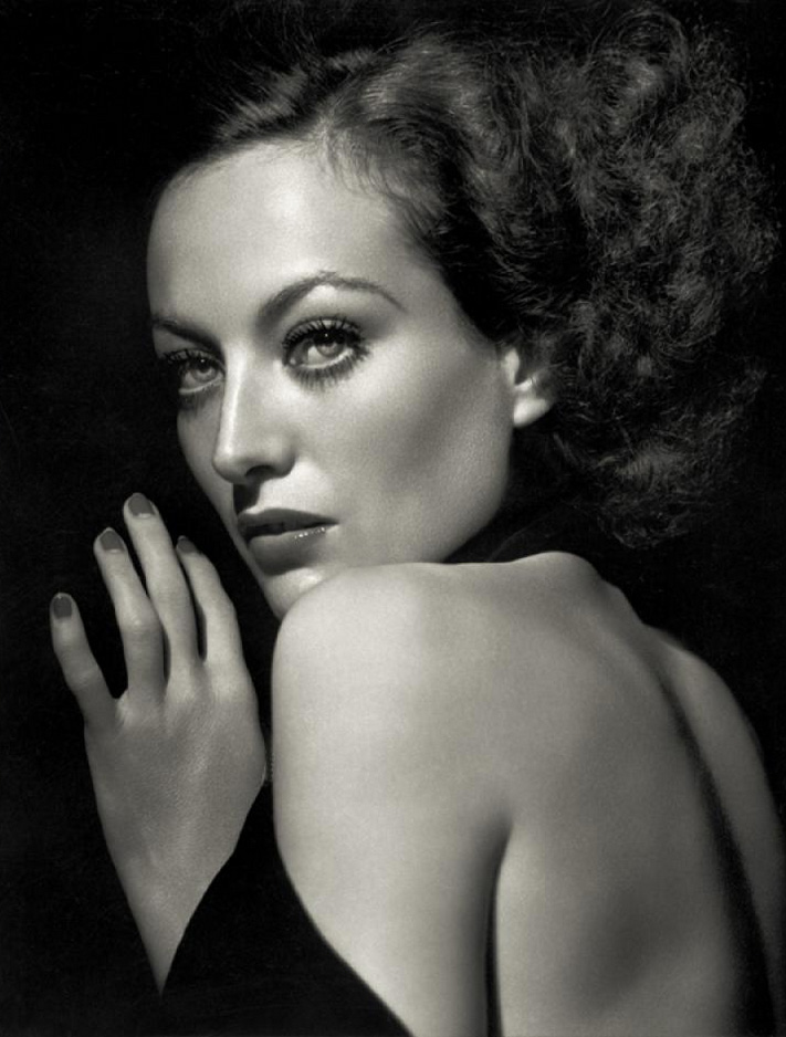 Joan Crawford x George Hurrell