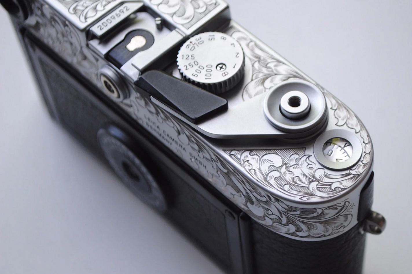 Engraved Leica M6
