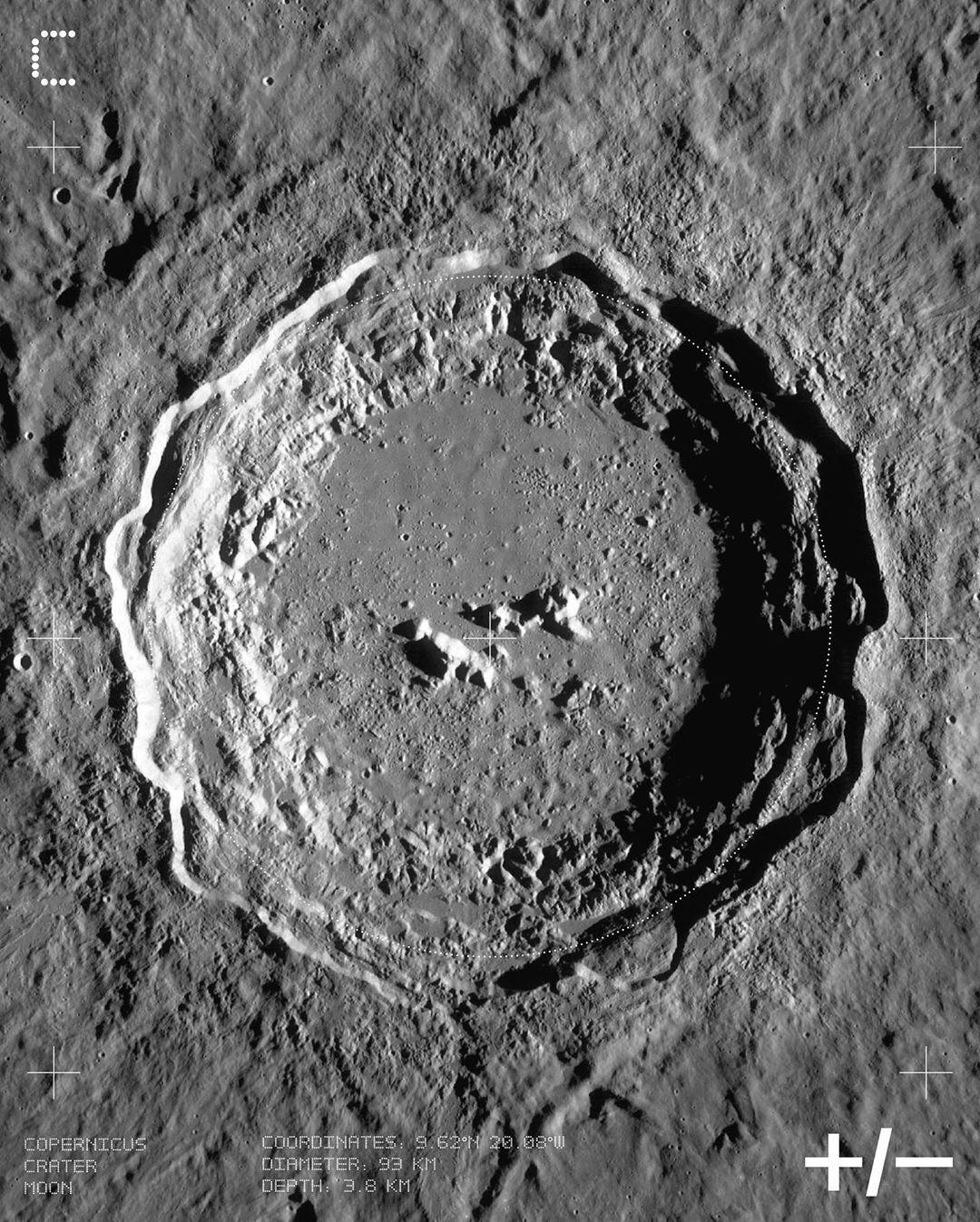 Copernicus Crater Moon