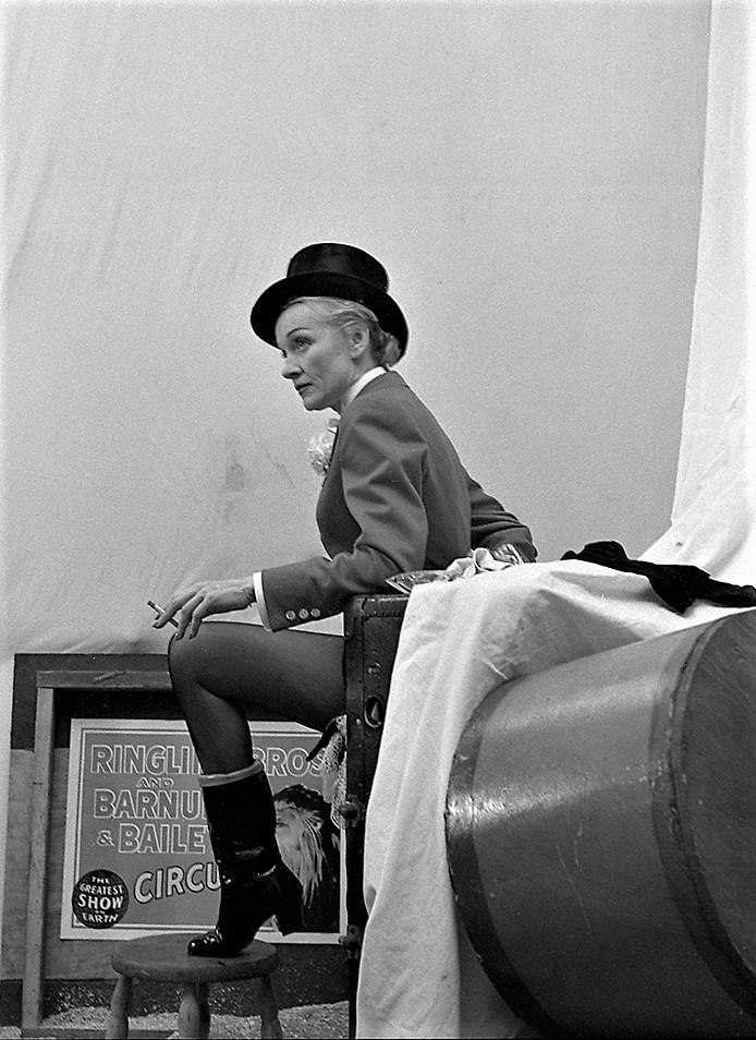 Marlene Dietrich x Milton H. Greene
