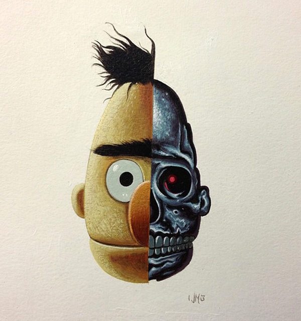 Anatomic Bert & Ernie