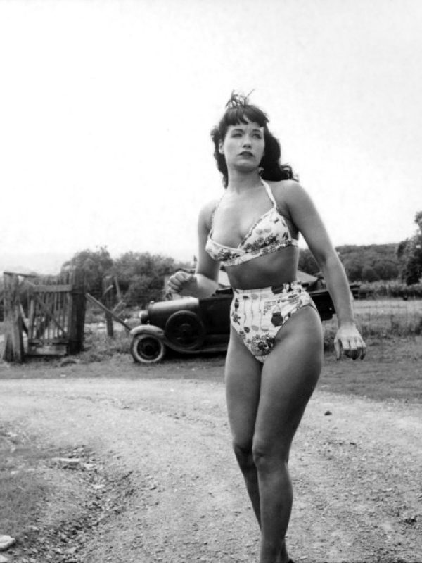 Bettie Page x Weegee