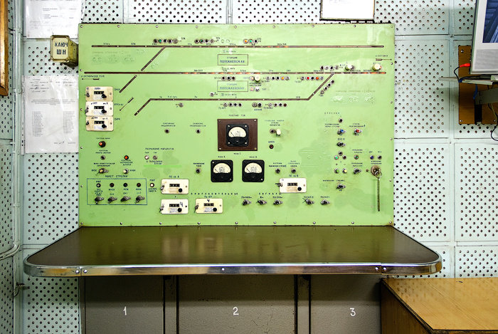 Vintage Soviet Control Rooms