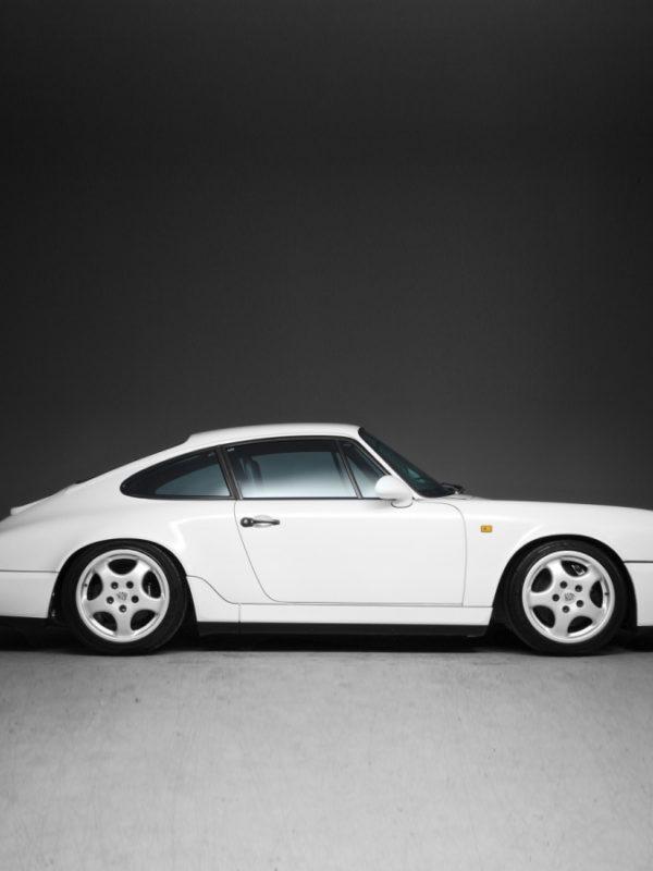 White 911 Porsche Carrera