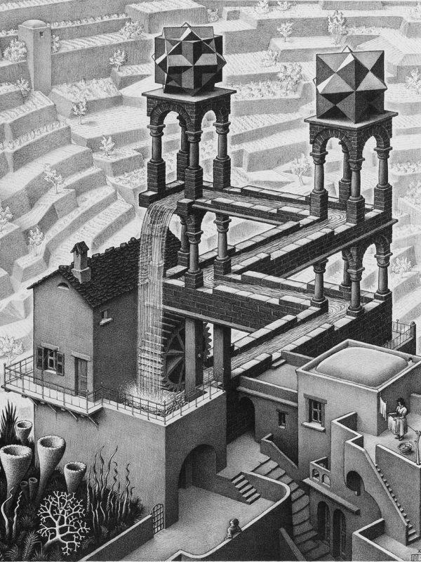 Waterfall x Escher